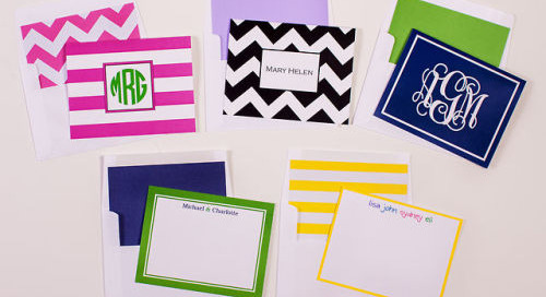 Mix & match your stationery and envelope liners. Which...