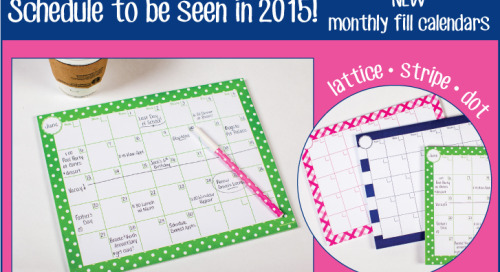 Schedule to be seen in 2015! Happy planning :)