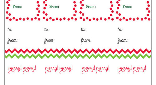 Is your shopping finished yet? Happy wrapping & tagging...