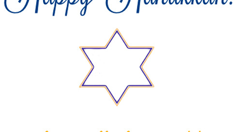 Happy Hanukkah from all of us at dd!