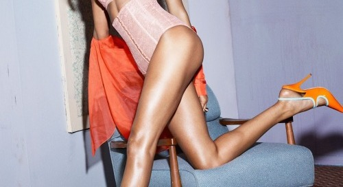 wmagazine:  Is that a compliment? Joan Smalls by Mert Alas and...