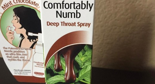 adultsuperstorelv:  Comfortably Numb is a tasty way to improve...