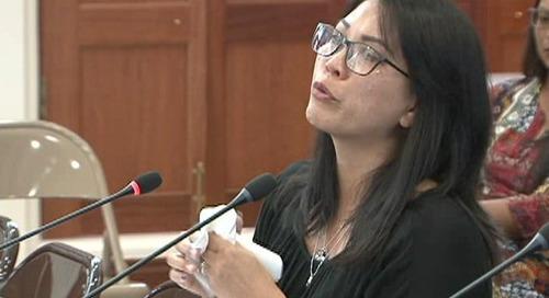 Emotional testimony presented for bereavement legislation