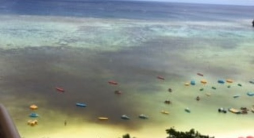 Red tide returns to Tumon Bay
