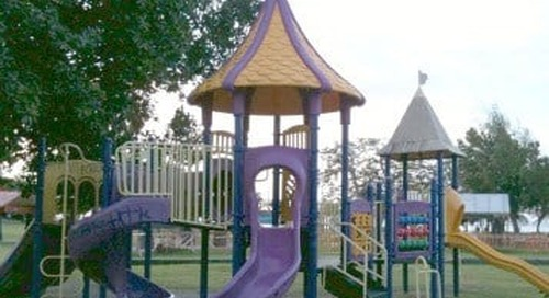 Playground cleaned up after mother turns to Facebook about children getting hurt