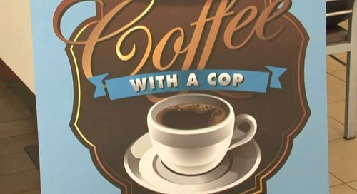 Coffee with A Cop returns to island's capitol