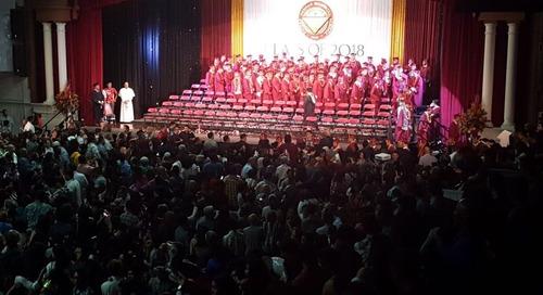 FD graduation honors late principal Tony Thompson