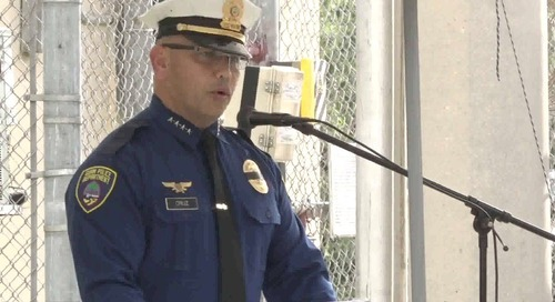 Law enforcers who paid the ultimate price honored