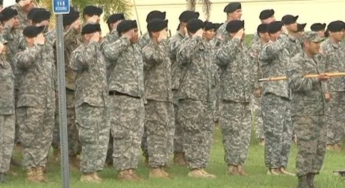Hundreds of Guam Guardsmen taking part in Heroes Run