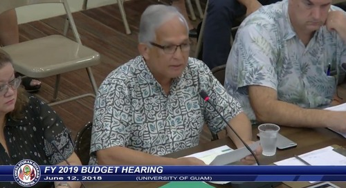 UOG makes budget request for more than $32M