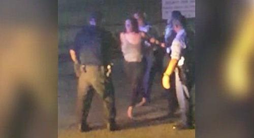 Morgan Hale caught in social video attacking cop