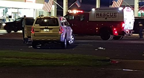 Man dies in Anigua auto-pedestrian crash