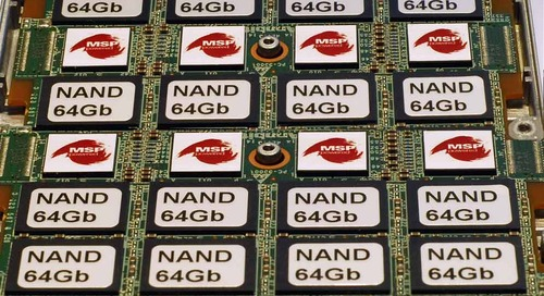 Signal processing and the evolution of NAND flash memory