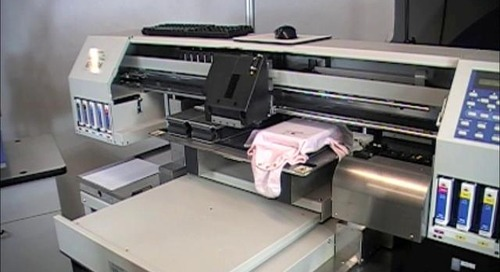 Mimaki Direct to Garment Printer Overview
