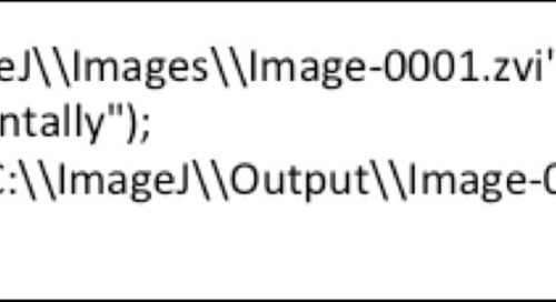 How to Start Using Coding to Automate Image Analysis Part 1: The Simple Process