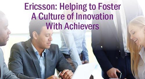 Ericsson: Uplifting Employee Engagement Scores With Achievers