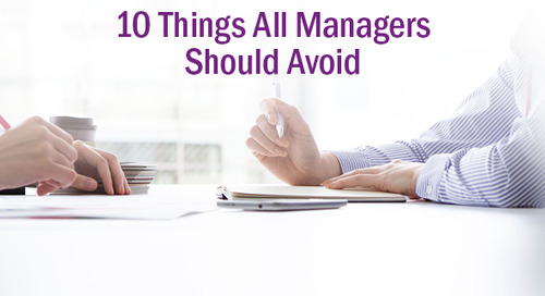 10 Things a Good Manager Never Does