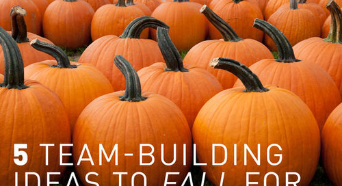 5 Team-Building Ideas to 'Fall' For