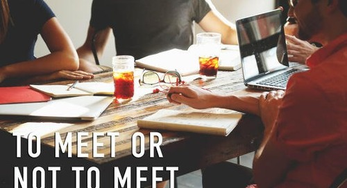 How to Get More Bang For Your Buck in Meetings