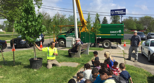 Davey Tree in Your Community – 5,750 Trees Planted on Arbor Day