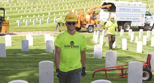 Davey Employees Volunteer Across USA for Veterans Day