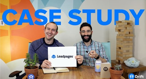 How Leadpages Used Drift to Increase Their Conversion Rate by 36%
