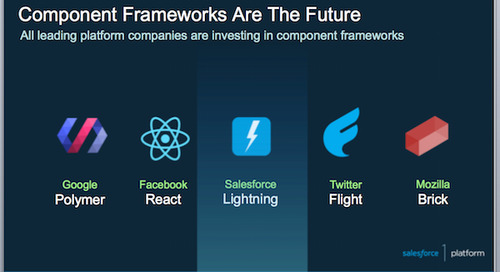 "Salesforce Lightning – The ""Enterprise"" JavaScript Component Framework"