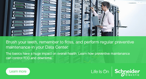 Data Center Downtime is Too Expensive to Forget about a Cooling Equipment Maintenance Plan