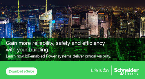 How digitization delivers new levels of insight into power reliability and energy efficiency