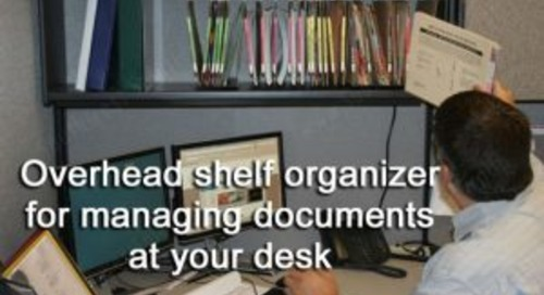 Managing Documents on Your Desk | Improving Workplace Productivity