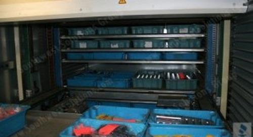 Titan Industriever Shuttle XP Vertical Storage | Inventory Management