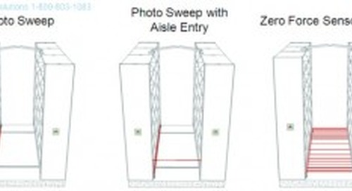 Spacesaver Powered Mobile Shelving Safety Devices For Safe Storage