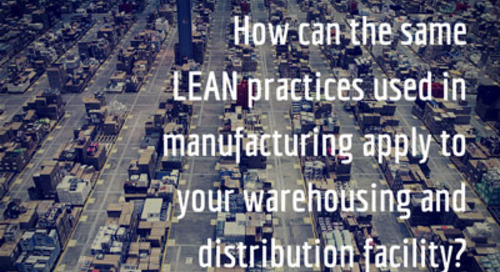 How to Apply LEAN Practices in Your Warehousing Facility