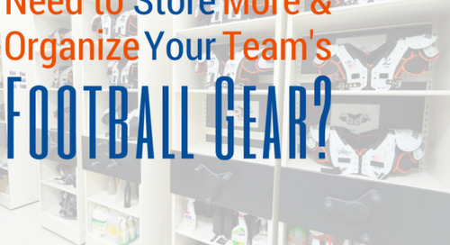 What Do the Top Football Teams Use for Storing Gear & Equipment?