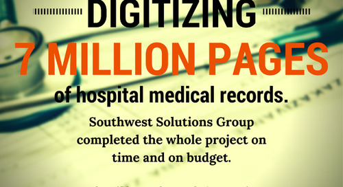 SSG Scans 7 Million Pages of Medical Records for San Antonio Hospital