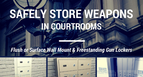 Gun Lockers & Cabinets for Courthouses | Safely Store Weapons in Courtrooms