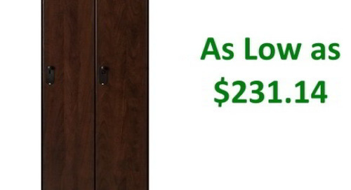 Wood Laminate Lockers for Golf & Country Clubs