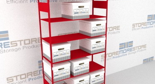 Storage for Your Warehouse: Shelving, Racks & Cabinets