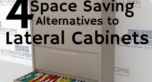 4 Space Saving Storage Alternatives to Lateral File Cabinets