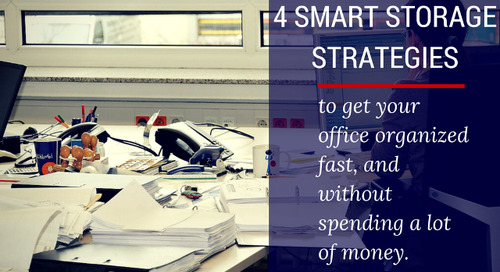 4 Smart Storage Strategies to Get Your Office Organized