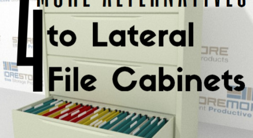 4 MORE Lateral Cabinet Alternatives to Save Office Space