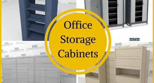 4 Worth-It Office Storage Cabinets for Your Workplace