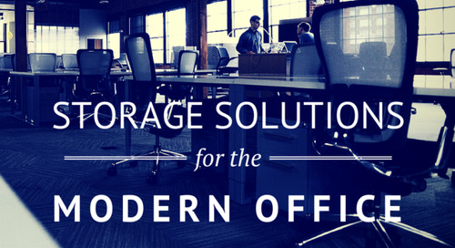 4 Solutions for Increasing Storage Capacity in Less Office Space