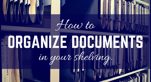 How to Organize Documents in Your Shelving