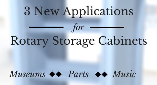 3 New Applications for Rotary Storage Cabinets that You Didn't Know About