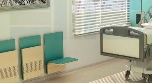 Wall-Mounted Folding Seats for Areas with Limited Space