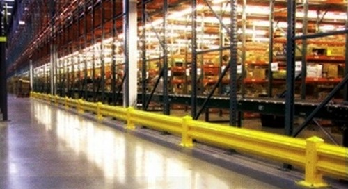 OSHA Industrial Guardrails & Forklift Safety Barriers