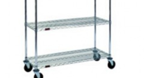 Mobile Shelving Carts As Accessible Office Supply Station Modernize Work Space