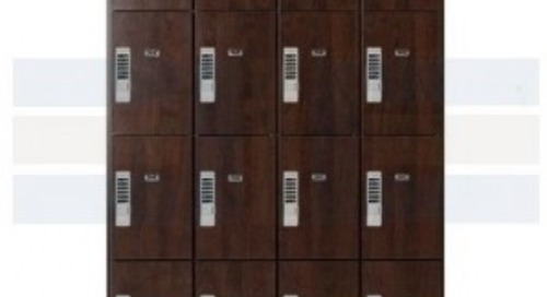 Wood Laminate Lockers with Keyless Locks Now Available
