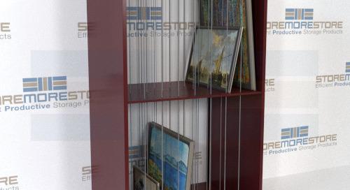 Framed Artwork Storage Cubbies & Shelves